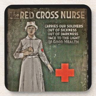 Enfermera que pide las donaciones WWI Posavaso