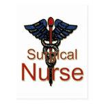 Enfermera quirúrgica postales