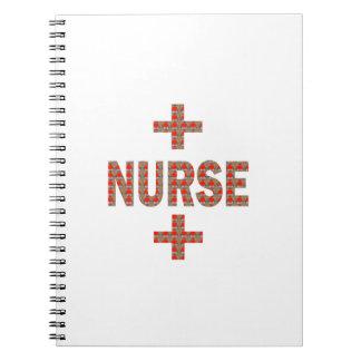 ENFERMERA REGALOS de la caridad de la medicina de Cuaderno