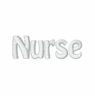 Enfermera registradoa chaquetas bordadas