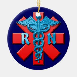 Enfermera registradoa ornatos