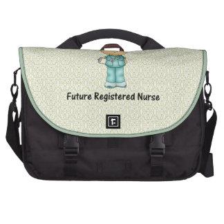 enfermera registradoa del futuro bolsas de portátil