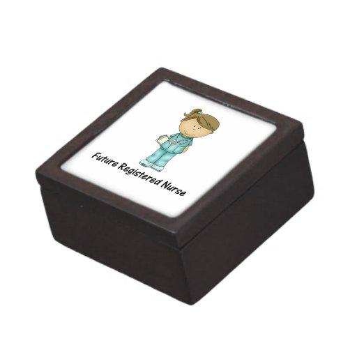 enfermera registradoa del futuro cajas de joyas de calidad