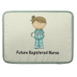 enfermera registradoa del futuro funda macbook pro