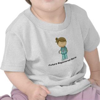 enfermera registradoa del futuro camisetas