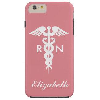 Enfermera registradoa funda resistente iPhone 6 plus