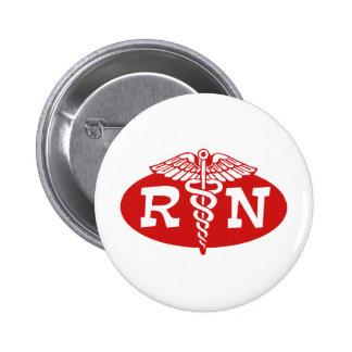 Enfermera registradoa pin