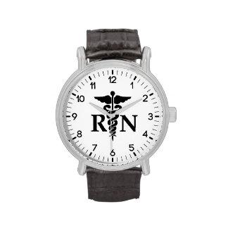 Enfermera registradoa relojes de pulsera