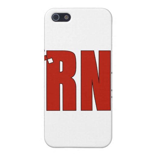 Enfermera registradoa RN iPhone 5 Protector