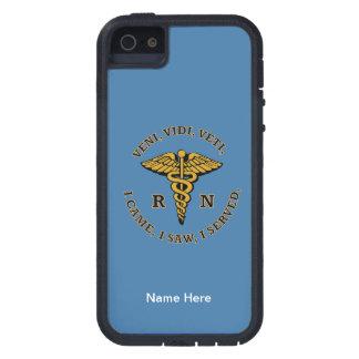 Enfermera registradoa VVV Funda Para iPhone 5 Tough Xtreme