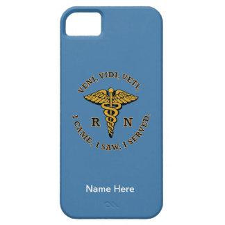 Enfermera registradoa VVV iPhone 5 Fundas