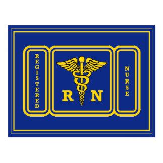 Enfermera RN del registro Postal