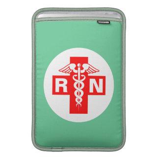 Enfermera RN o iniciales Fundas Para Macbook Air