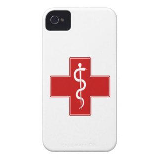 Enfermera Rod de Asclepius Case-Mate iPhone 4 Carcasa