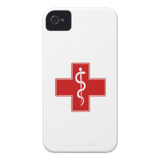 Enfermera Rod de Asclepius Case-Mate iPhone 4 Carcasas