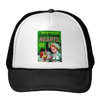 Enfermera sola del corazón - arte del romance del  gorras