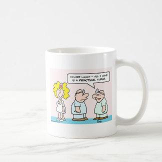 enfermera taza de café