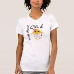 Enfermera urológica del polluelo v2 de la camisetas
