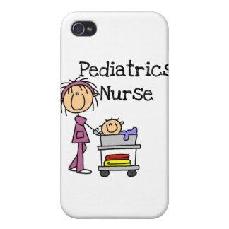 Enfermera y regalos de la pediatría iPhone 4 cárcasas