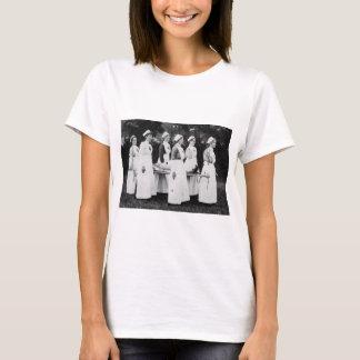Enfermeras de la Primera Guerra Mundial con el Playera
