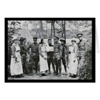 Enfermeras de la Primera Guerra Mundial Tarjeta De Felicitación