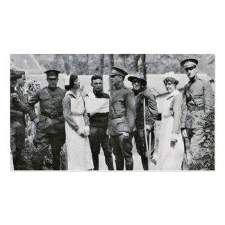 Enfermeras de la Primera Guerra Mundial Tarjetas Personales