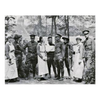 Enfermeras de la Primera Guerra Mundial Postal
