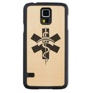 Enfermeras de LPN Funda De Galaxy S5 Slim Arce