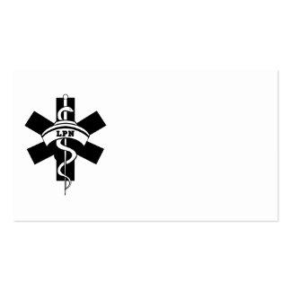 Enfermeras de LPN Tarjeta De Visita