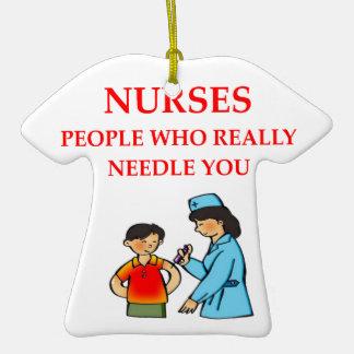 enfermeras adorno de navidad