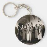 Enfermeras del alemán de WWI Llavero