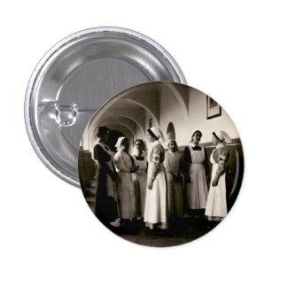 Enfermeras del alemán de WWI Pin Redondo De 1 Pulgada