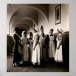Enfermeras del alemán de WWI Posters
