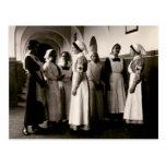 Enfermeras del alemán de WWI Tarjetas Postales