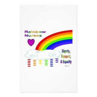Enfermeras del arco iris  papeleria