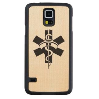 Enfermeras del RN Funda De Galaxy S5 Slim Arce