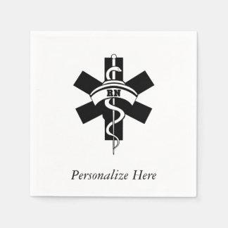 Enfermeras del RN Servilleta De Papel