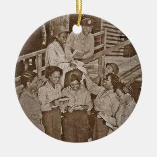 Enfermeras en el correo que consigue pacífico del ornaments para arbol de navidad