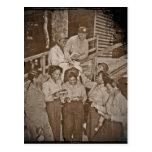 Enfermeras en el correo que consigue pacífico del postales