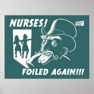 ¡Enfermeras! ¡Frustrado otra vez!!! Poster