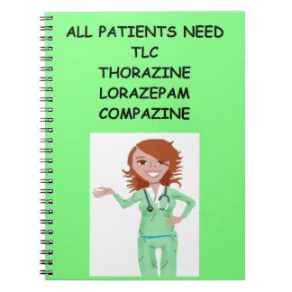 enfermeras libreta