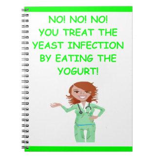 enfermeras cuaderno