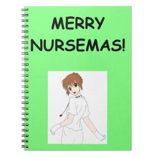 enfermeras libreta espiral
