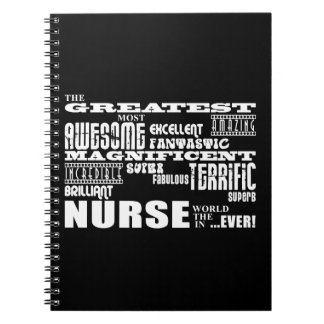 Enfermeras modernas frescas de la diversión: El mu Cuaderno
