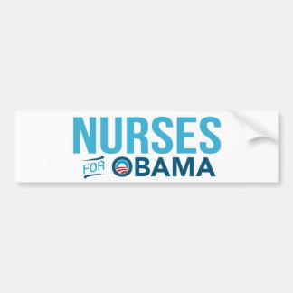 Enfermeras para la pegatina para el parachoques de pegatina para auto