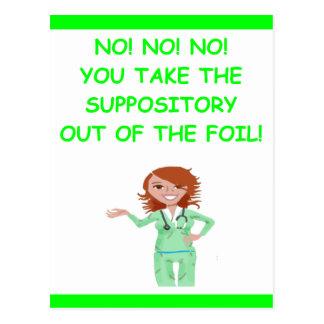 enfermeras postales
