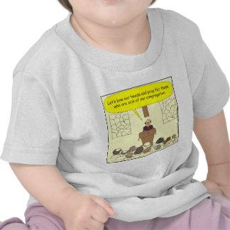 Enfermo 345 de nuestro dibujo animado del color de camisetas