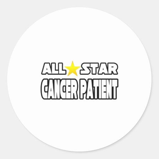 Enfermo de cáncer de All Star Pegatina