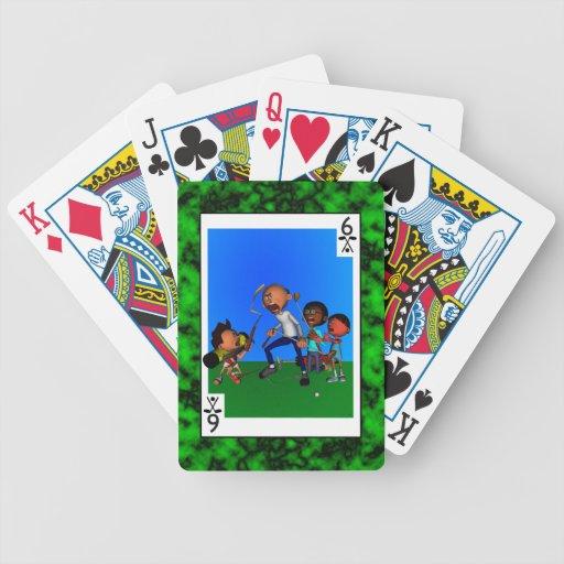 Enfermo de clubs baraja cartas de poker