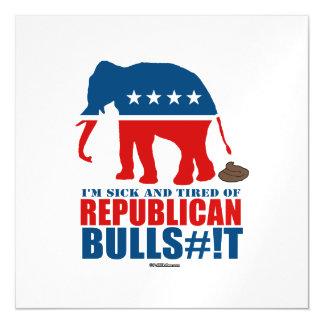 Enfermo y cansado de Bulls__t republicano